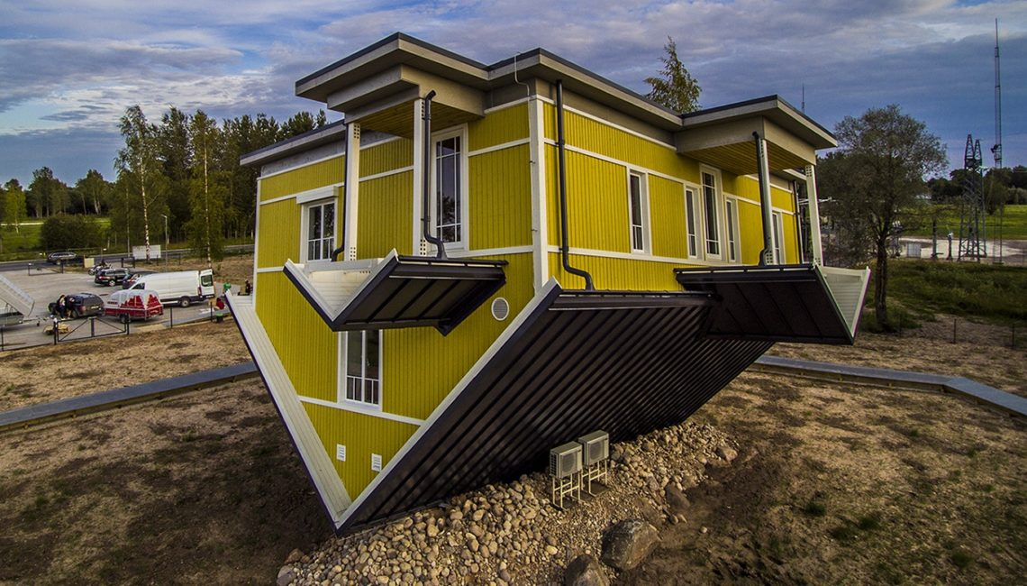 Q haus to build a unique upside down house q haus The upside house