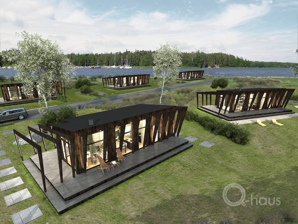 Modular House Cliff Haus Prefabricated Wooden Element
